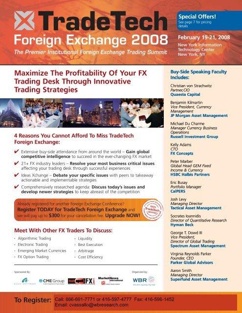 IQPC-WBR TT Foreign Exchange 4 1 - Tactical Asset Management