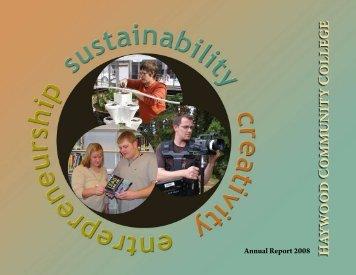 annual Report 2008 - Haywood Community College