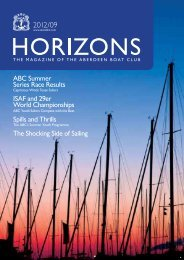 Sep 2012 Issue - the Aberdeen Boat Club