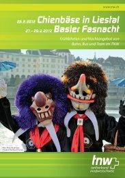 26. 2. 2012 Chienbäse in Liestal - Basler Fasnacht Online
