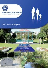 2007 WBR A4 Annual Report - WBR Credit Union