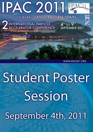 Abstracts Brochure - 2nd International Particle Accelerator Conference