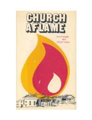 Church Aflame part 1 - Elmer Towns