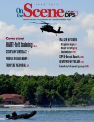 June - North Carolina Department of Public Safety