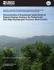 Characterization of Groundwater Quality Based on Regional ... - USGS