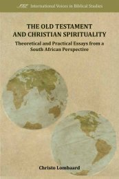 The Old Testament and Christian Spirituality - International Voices in ...