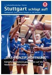 """Stuttgart schlägt auf! """"DAS PRINZIP HOFFNUNG"""" - Allianz MTV ..."""