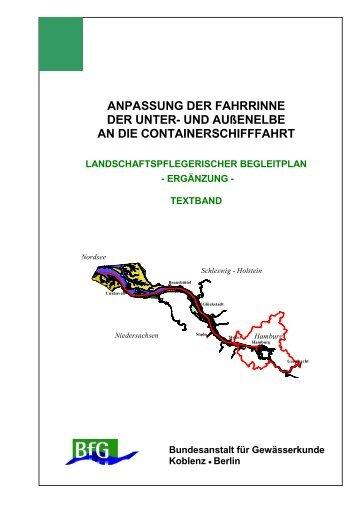 ANPASSUNG DER FAHRRINNE DER UNTER ... - Portal Tideelbe