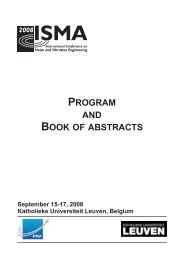 program and book of abstracts - International Conference on Noise ...