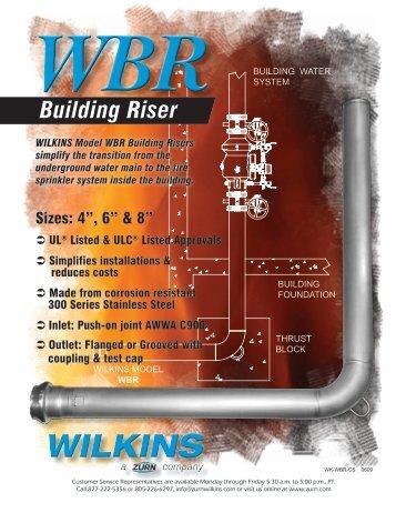 Building Riser - Zurn