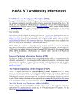 NASA Scientific and Technical Aerospace Reports - Page 4