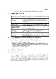 1. Bundestierschutzgesetz Anlage 5 Schweine