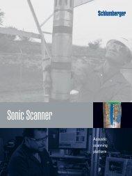 Sonic Scanner - Schlumberger