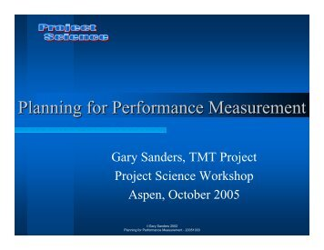 performance measurement project manag If you run a project-based business like mine, you know that there are any  number of things that can get between you and the successful end of.