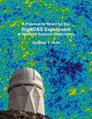 BigBOSS Experiment - BigBoss - Lawrence Berkeley National ...