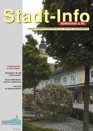 Stadt-Info 05/2010 (August/September) - Seekirchen am Wallersee