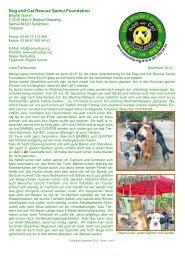 Rundbrief Dezember 2012 - The Dog Rescue Center Samui