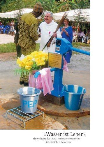 2005 Wasser ist Leben - Stiftung St.Martin