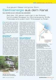 Elektroenergie aus dem Kanal.pdf - Infrawatt
