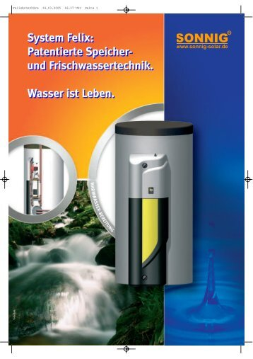 System Felix - NOTHAFT Heiztechnik