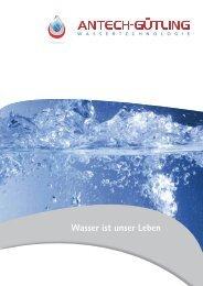 Wasser ist unser Leben - Gütling Wassertechnologie GmbH