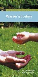 Wasser ist Leben - Boehringer Ingelheim Pharma GmbH & Co. KG