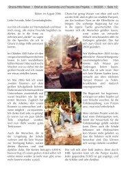 Brief aus Ghana - Evangelische Kirchengemeinde Reken