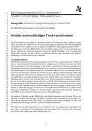Sozialer und nachhaltiger Trinkwasserkonsum - BDKJ im Erzbistum ...