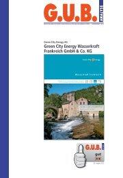 Green City Energy Wasserkraft Frankreich GmbH & Co. KG