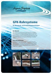 GFK-Rohrsysteme - Aqua-System-Engineering