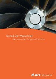 Technik der Wasserkraft - E.ON - Strom und Gas - Info-Service