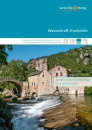 Wasserkraft Frankreich Prospekt - Green City Energy