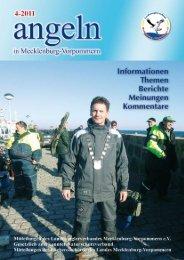 angeln - Landesanglerverband Mecklenburg-Vorpommern eV
