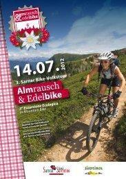 Alm rausch & Edel bike - Sarntal