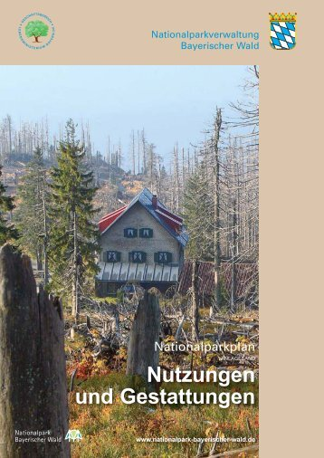Nutzungen und Gestattungen - Nationalpark Bayerischer Wald