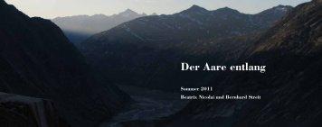 Der Aare entlang 2011 (pdf 5.7MB) - bxgrafik