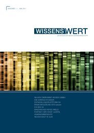 Wissenswert 1/2011 - Wilken Entire AG