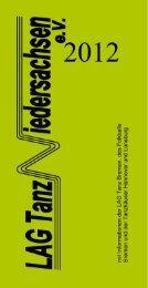 PDF (530 kB) - LAG Tanz Niedersachsen eV