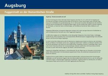 Stadtführung Augsburg - StadtTour