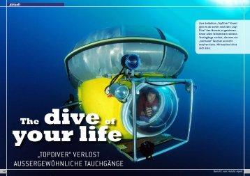Ein aktueller Bericht der DiveInside zum TOP-Diver - Tauchsport ...