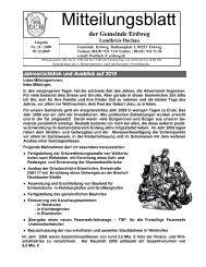 Mitteilungsblatt 11_2009 - Erdweg