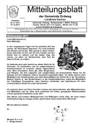 Mitteilungsblatt 08_2011 - Erdweg
