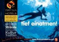 Höhlen Wracks Fauna - Hotel Cala Ratjada