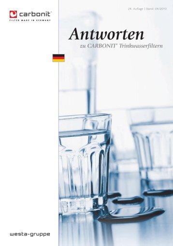 Antworten - carbonit Filtertechnik GmbH