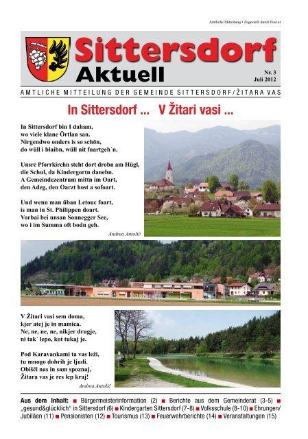 Aktuell - Sittersdorf
