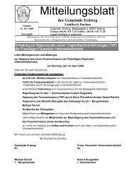 Mitteilungsblatt 03_2009 - Erdweg