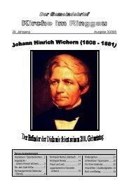 29. Jahrgang Ausgabe 3/2008 - Kirchenkreises Eschwege