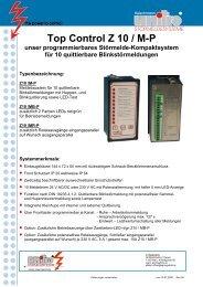 STÖRMELDESYSTEME - SPRINGSHOLZ GmbH