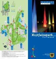 Westfalenpark-Programm 2. Halbjahr 2008 - Dortmund