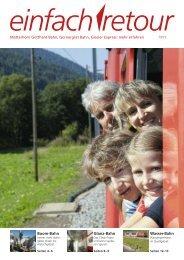Boom-Bahn Glanz-Bahn Wasser-Bahn - Gornergrat Bahn